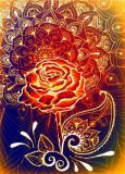 DANACARDS Henna Rose - Margot F. Ibrahim Postkarte