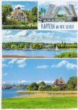 HARTUNG EDITION Kappeln an der Schlei / 4 Fotos Postkarte