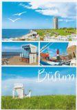 HARTUNG EDITION Büsum / 4 Fotos Postkarte