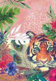 HARTUNG EDITION Tiger im Urwald NATURE Postkarte
