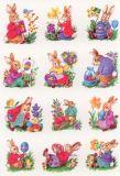 Herma Osterhasen + Blumen Sticker