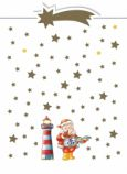 CITYPRODUCTS Santa Claus with light house Christmas postcard