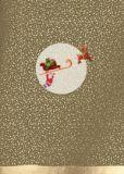 CITYPRODUCTS Weihnachtsmann hängt unterm Schlitten Weihnachts-Postkarte