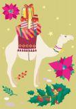 NOBIS DESIGN Christmas Kamel Postkarte