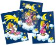 LUTZ MAUDER Engel auf Wolke Wackelbild Postkarte
