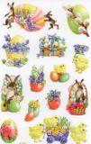 Z-Design Blumige Ostern Sticker