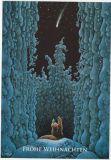 LENNART HELJE Frohe Weihnachten / Sternschnuppe über Wald Postkarte
