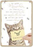HARTUNG EDITION Es gibt Menschen die schaffen es... / Danke! IN TOUCH Postkarte