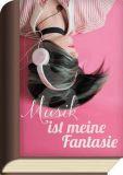 TAURUS-KUNSTKARTEN Musik ist meine Fantasie / Frau mit Kopfhörern - BookCard Postkarte