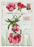 TAUSENDSCHÖN Blumenfee mit Mohn Postcard Postkarte