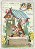 TAUSENDSCHÖN Ostern - Ostereierverkauf Postkarte