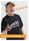 MT Herzlichen Glückwunsch / Holladihiti - Otto Waalkes postcard