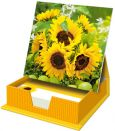 HARTUNG EDITION sunflowers note sheet box