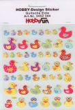 HobbyFun Quietscheentchen Hobby-Design Sticker