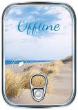 HARTUNG EDITION Offline / dunes metallic effect refined postcard