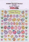 HobbyFun Ostern Hobby-Design Sticker
