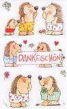 BSB Süße Igel Dankeschön Sticker