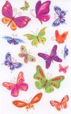 BSB Farbenfrohe Schmetterlinge Sticker