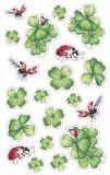 AVANsticker four-leafed clover + ladybugs stickers