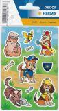 Herma Beste Freunde / Tiere im Einsatz Sticker