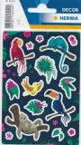 Herma tropical animals stickers