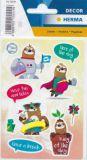 Herma sloth Kasimir stickers