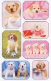BSB Hundefotos im Rahmen Sticker