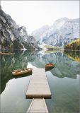 HARTUNG EDITION mountain lake FEEL GOOD postcard