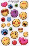 BSB Bunte Smileys mit Herzen Sticker