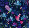 GOLLONG hummingbirds - Mila Marquis postcard