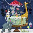 GOLLONG animals celebrates birthday - Mila Marquis postcard