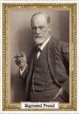 TAUSENDSCHÖN Sigmund Freud Bilderrahmen Postkarte