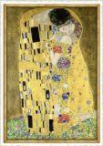 TAUSENDSCHÖN Der Kuss / Gustav Klimt Bilderrahmen Postkarte