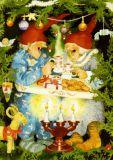 TAURUS-KUNSTKARTEN women at Christmas - Inge Löök postcard