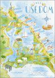 HARTUNG EDITION Insel Usedom postcard
