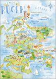 HARTUNG EDITION Insel Ruegen postcard