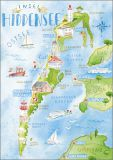 HARTUNG EDITION Insel Hiddensee postcard