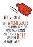 RANNENBERG Der Vorteil einer Wärmflasche...  postcard