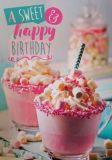 GOLDBEK A sweet & happy Birthday! Lichtblicke Postkarte