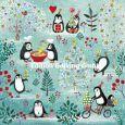 GOLLONG Pinguine - Mila Marquis Postkarte