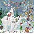 GOLLONG Eisbären an Weihnachten - Mila Marquis Postkarte