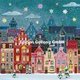 GOLLONG Weihnachtliche Stadt - Mila Marquis Postkarte