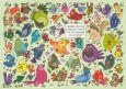TAURUS-KUNSTKARTEN Welcher Vogel war einkaufen...? - Charis Bartsch Postkarte