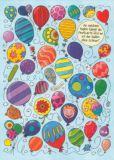 TAURUS-KUNSTKARTEN An welchem Ballon hängt die Postkarte...? - Charis Bartsch Postkarte