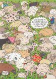 TAURUS-KUNSTKARTEN Wo ist das Schaf mit dem gestreiften Pullover...? - Charis Bartsch Postkarte