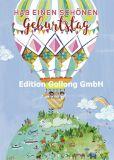 GOLLONG Hab einen schönen Geburtstag / Heißluftballon - Mila Marquis Postkarte