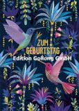 GOLLONG Zum Geburtstag / Kolibris - Mila Marquis Postkarte