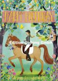 GOLLONG Happy Birthday / Reiterin - Mila Marquis Postkarte