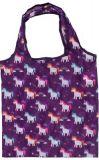PUCKATOR Enchanted Rainbow Einhorn faltbare Einkaufstasche