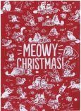 PUCKATOR Simons Cat Meowy Christmas Geschirrtuch Polycotton